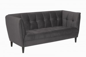 Sofa Jonna Velvet Dark Grey
