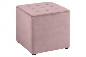 Pufa Bryan Velvet Dusty Rose