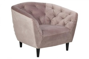 Fotel Ria VIC Dusty rose